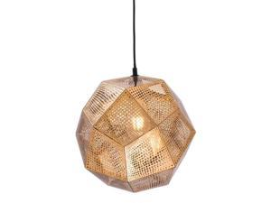 Zuo Bald Ceiling Lamp in Gold