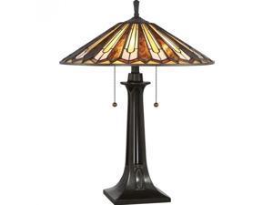 Quoizel Lance Table Lamp in Vintage Bronze