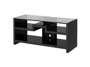 Kathy Ireland Office by Bush Furniture New York Skyline 3-in-1 Gaming Center TV Stand in Modern Mocha