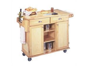 Home Styles Natural Napa Kitchen Cart - 5099-95