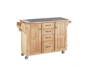 Home Styles Create-a-Cart Natural Finish Stainless Top - 9100-1012