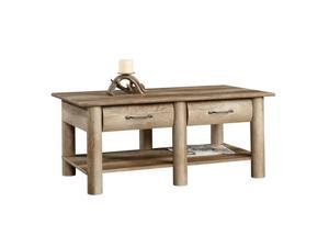Sauder Boone Mountain Coffee Table in Craftsman Oak