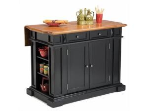 Home Styles Kitchen Island Black & Distressed Oak - 5003-94