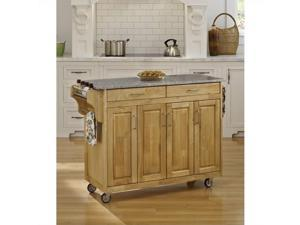 Home Styles Create-a-Cart Natural Finish SP Granite Top - 9200-1013