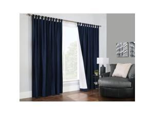 """Commonwealth Weathermate 84"""" Tab Curtain Panel in Navy (Set of 2)"""