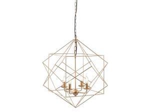 Zuo Penta Ceiling Lamp in Gold