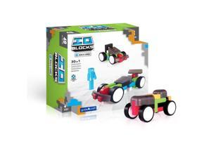 Guidecraft IO Blocks Race Cars Set