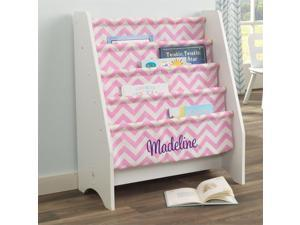 Kidkraft 5 Sling Bookshelf in Pink