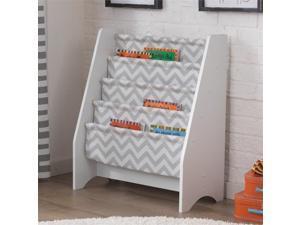 Kidkraft 5 Sling Bookshelf in Gray
