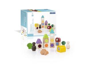 Guidecraft Manipulatives Sensory Stacking Blocks