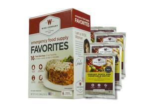 Wise Company Emergency Food Supply Favorites