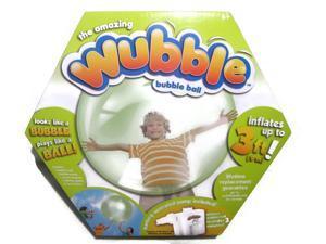 The Amazing WUBBLE Bubble Ball – Looks like a bubble, plays like a ball! Green