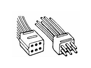 United States Hdwe. RV-360C Molded Connectors