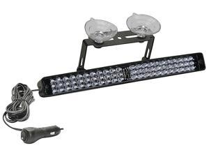 STAR ULB9A Warning Light, LED, Amber, Perm, Rect, 9 L