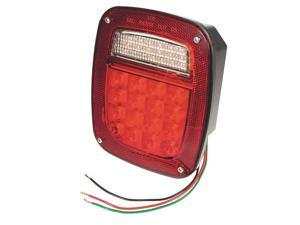 GROTE G5082-5 LED,Box Lamp,RH,Red