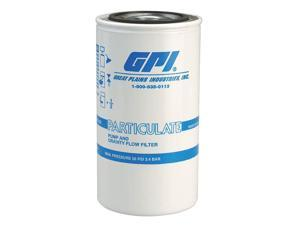 Fuel Filter Canister, 10 Microns, 18 GPM