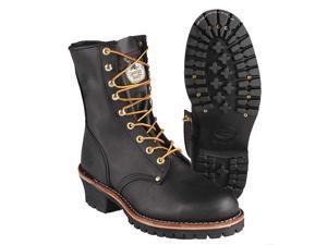Logger Boots, Stl, Mn, 12, Blk, 1PR G8320 012 M