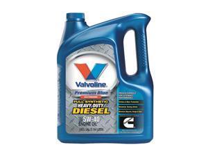 VALVOLINE Motor Oil, Diesel Synthetic, 1 Gal, 5W-40 774038