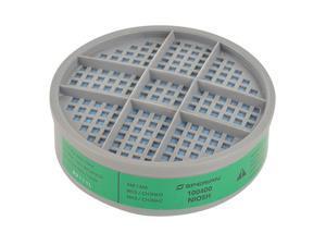 HONEYWELL Combination Cartridge, Green, PK6 B100400