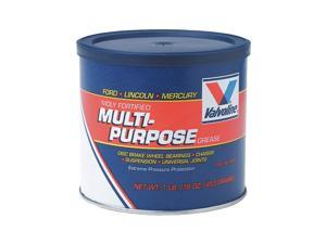 VALVOLINE VV632 Grease, Ext Pres and High Temp, 1lb, Black