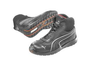 Athletic Work Boots, Stl, Mn, 9, Blk, 1PR 632165-09