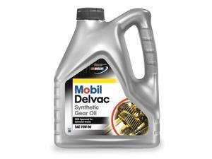 MOBIL Mobil Delvac Syn Gear 75W90, Gear Oil, 1g 112811