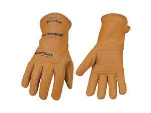Winter Wtrprf Gloves, Kevlar Lined, L 11-3285-60-L