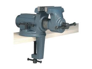 Bench Vise, Portable, Clamp-on, 4 In