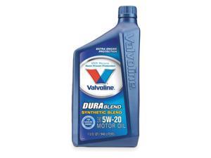 VALVOLINE Durablend, Synthetic Blend, 5W20,1 Qt VV317