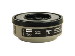 Respirator Cartridge, Black, Pr N75001L