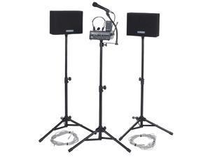 AMPLIVOX SOUND SYSTEMS SW230A Public Address System, Wireless, 50 Watt