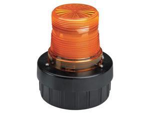 FEDERAL SIGNAL Warning Light w/Sound, LED, Amber, 120VAC AV1-LED-120A