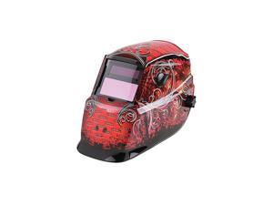 LINCOLN ELECTRIC K2933-1 Welding Helmet, Shade 9 to 13, Red/Black