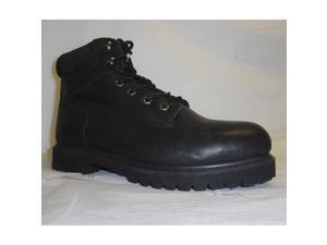 Work Boots,  Size 13,  Toe Type: Steel,  PR STG-0225041BK-130