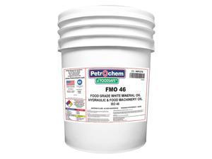 PETROCHEM FOODSAFE FMO 46-005 Mineral Hydraulic Oil, Food Grade, 5 gal.