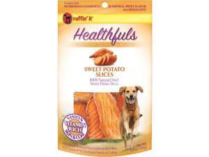 5Oz Sweet Potato Slices Dog Treats Ruffin It Pet Supplies 76158083127
