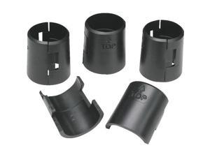 4 Pk Black Plastic Clip SHF-01133
