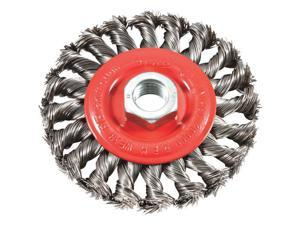 "4"" Twist Knot Wire Wheel 72759"
