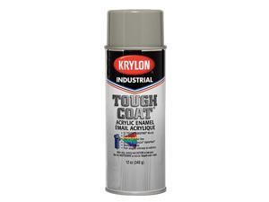 Gray Spray Paint,  Gloss Finish,  12 oz. A00326