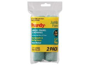 PURDY Mini Paint Roller Cover, 4-1/2 In, PK2 140624040