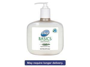 Basics Liquid Hand Soap, Rosemary & Mint, 16 oz Pump Bottle 06044EA