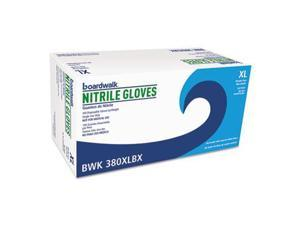 Disposable General-Purpose Nitrile Gloves X-Large Blue 4 mil 100/Box
