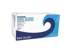 Exam Vinyl Gloves Clear Large 3.6 mil 100/Box