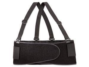 Economy Back Support Belt, X-Large, Black 717604