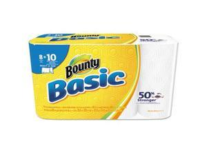 Basic Select-a-Size Paper Towels, 5 9/10 x 11, 1-Ply, 89/Roll, 8/Pack 92979