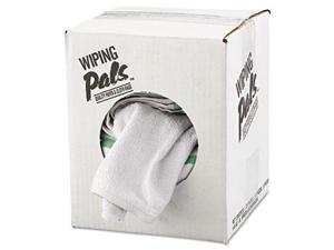 Counter Cloth/Bar Mop White Cotton 12/Bag 5 Bags/Carton