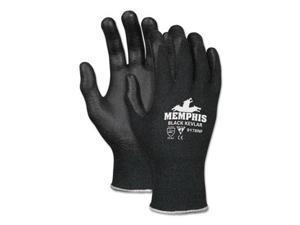 Kevlar Gloves 9178NF, Large, Black, Kevlar/Nitrile Foam 9178NFL