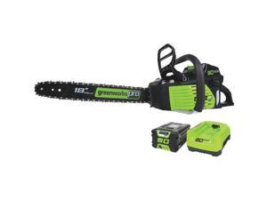 Greenworks 2000002 80V Cordless Lithium-Ion Pro 18 in. Chainsaw