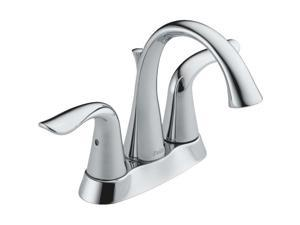 Delta Faucet Two Handle Chrome Lavatory Faucet with Popup 2538-MPU-DST