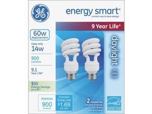 GE Lighting 2 Pack 14w Day Cfl Bulb 64005
